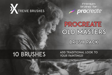 Procreate Old Masters brush pack! by Extremebrushes
