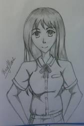 Boku Dake Ga Inai Machi Sketch by KageHimeNoMai