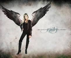 That Little Fallen Angel by dusted92