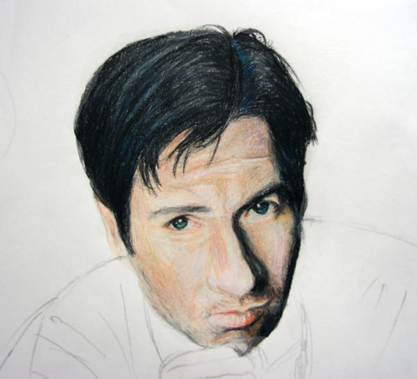 How To Draw Fox Mulder