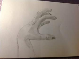 Hand sketch by Aaaaaaaart