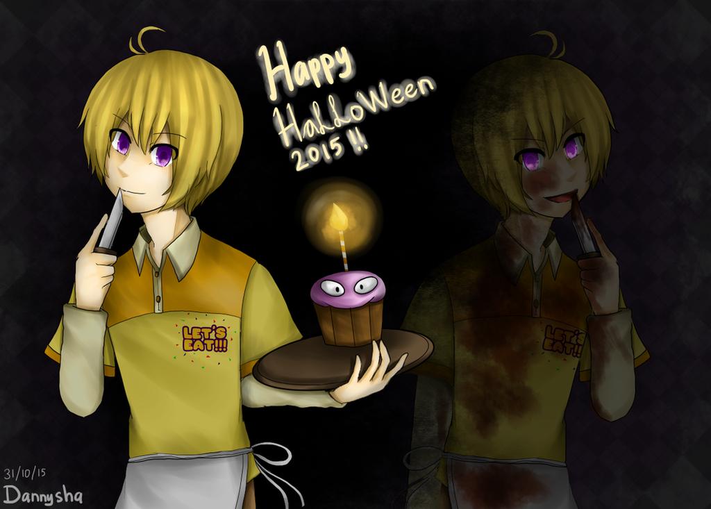 FNAF] Chico-kun! Happy Halloween 2015 (+SP) by Dannysha on DeviantArt