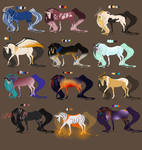 Mystery Fantasy Horse Adoptables - SIX - CLOSED