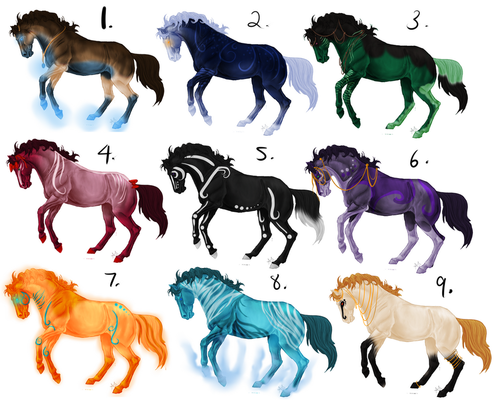Fantasy horse adoptables for you all open by collie studios on fantasy horse adoptables for you all open by collie studios voltagebd Images