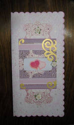 Card in scrap style_01 by Bastet-SAN
