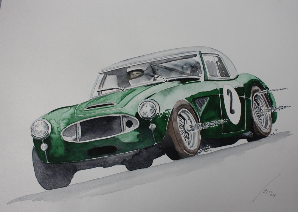 Austin Healey 3000 by JOKAWORKS