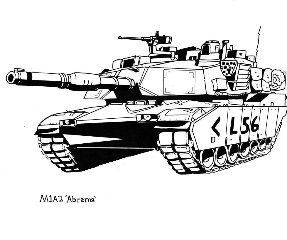 m1a2 abrams by obershutzewienman