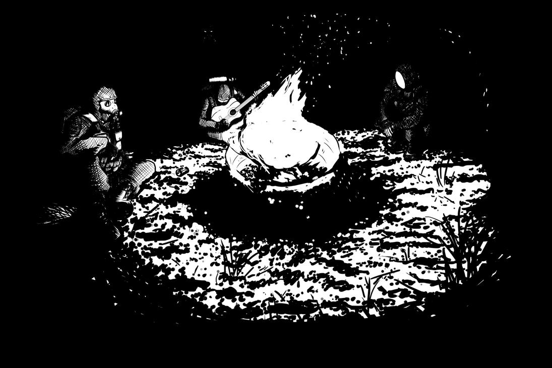 Stalker Campfire by ObershutzeWienman