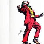 Joker   Sharpie Marker
