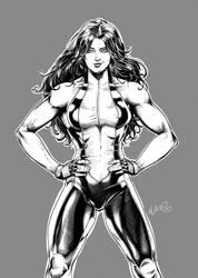 She-Hulk - Gray BG