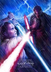 Star Wars   Rey and Kylo Ren