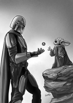 Star Wars   Mando and Grogu
