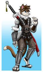 Armored Yuri the Cat
