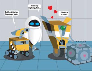 Robot Love by Inspectornills