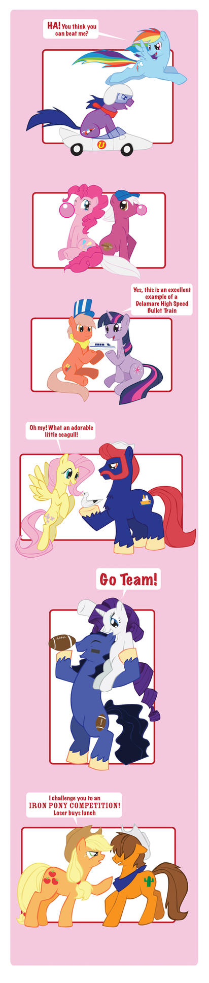 My Little Pony Matchup by Inspectornills
