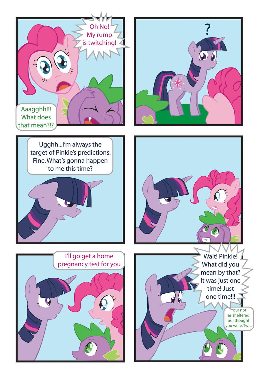 MLP Comic: The Twitches by Inspectornills