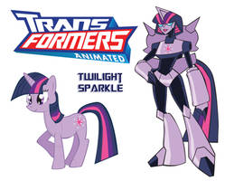 Transformares Twilight Sparkle by Inspectornills