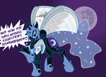 Nightmare Moon, the Mare that is the Moon
