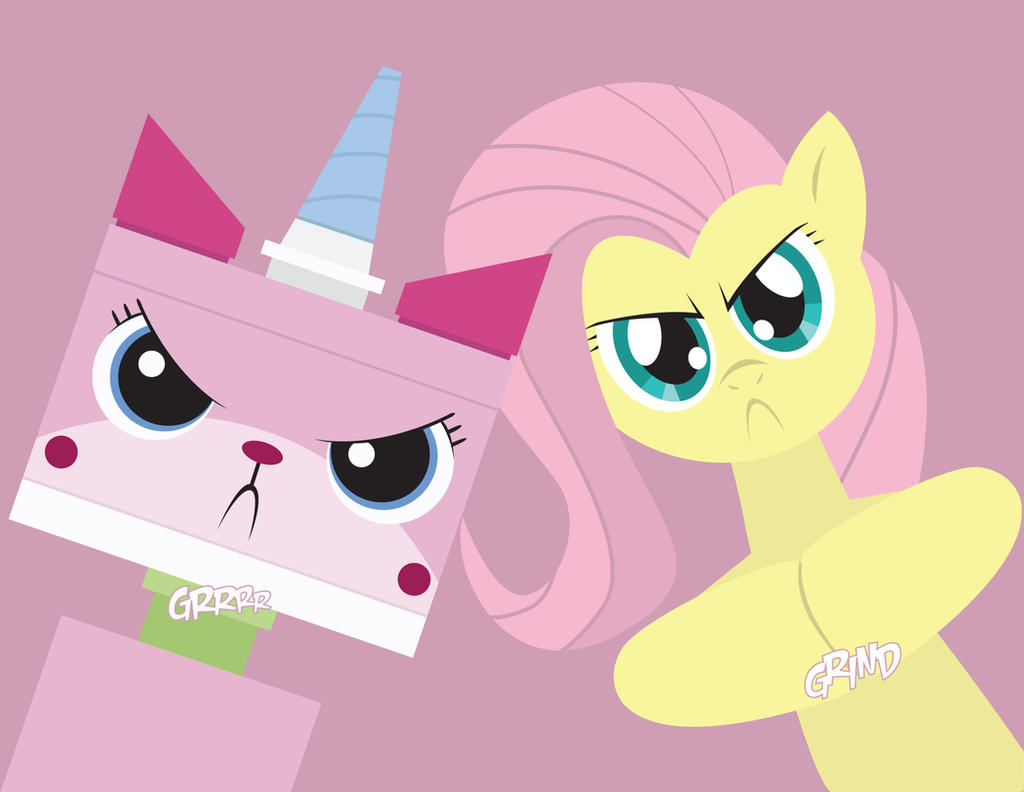 Unikitty Pinkie Pie Don t Mess With Us by