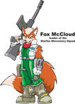 Fox McCloud of Starfox