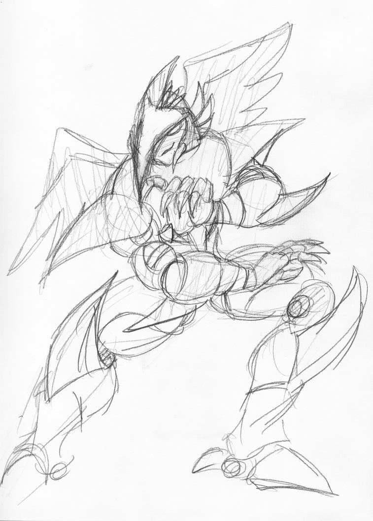 Requests B-Bird sketch by Inspectornills