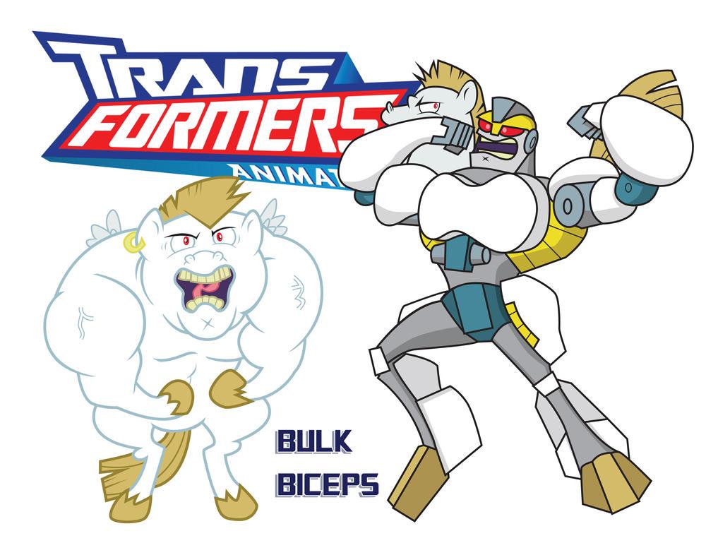 Transformares Bulk Biceps by Inspectornills