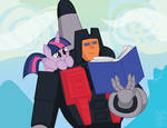 Twilight Sparkle and Skydive