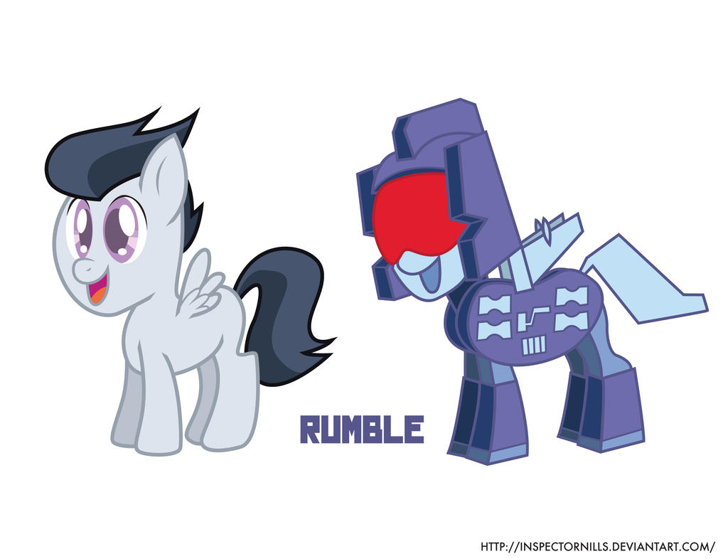 Rumble's Pretender Shell by Inspectornills