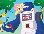Fluttershy and Beachcomber