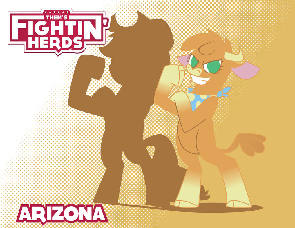 Them's Fightin' Herds - Arizona by Inspectornills