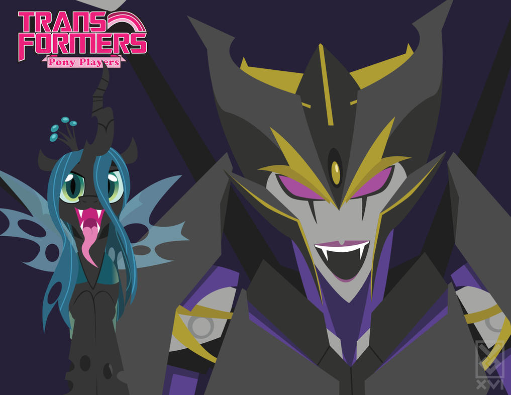 Transformers Pony Players - Chrysalis Airachnid by Inspectornills