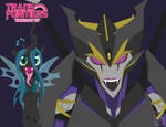 Transformers Pony Players - Chrysalis Airachnid