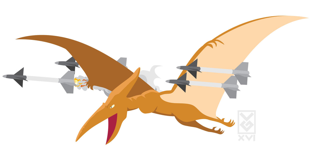 Request: Pterodactyl with Sidewinders by Inspectornills