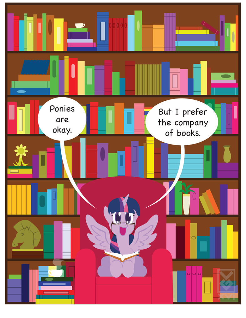 Company of Books by Inspectornills