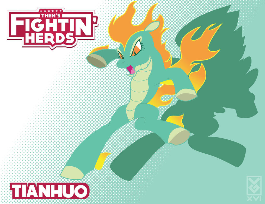 Them's Fightin' Herds - Tianhuo by Inspectornills