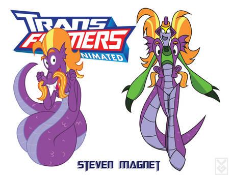 Transformares Steve Magnet
