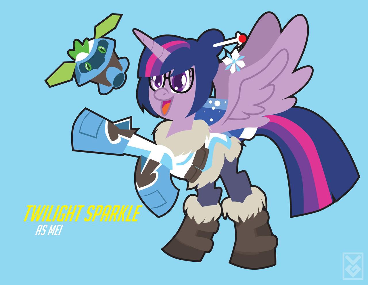 Twilight Sparkle as Mei