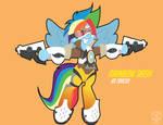 Rainbow Dash as Tracer