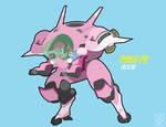 Pinkie Pie as D.va