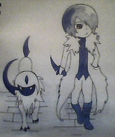 Absol with His Human Form by oOoEnticment97oOo on DeviantArt