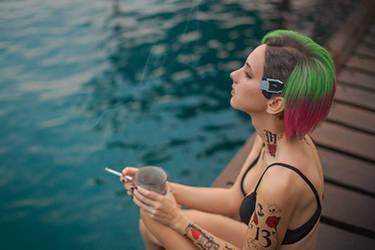 Judy Alvarez cosplay, Cyberpunk 2077