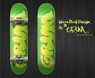 Green Deck Design by DjKURe