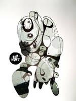 Abstract-o-bot 2 by Jawa-Tron