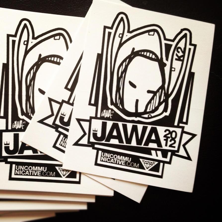 Jawa 2012 Stickers by Jawa-Tron