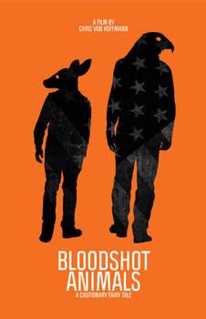 Bloodshot Amimals Poster