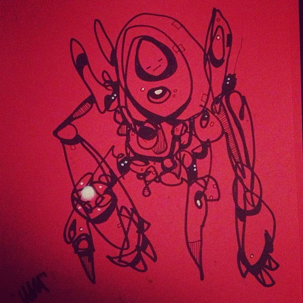Been Sketchin 02 by Jawa-Tron