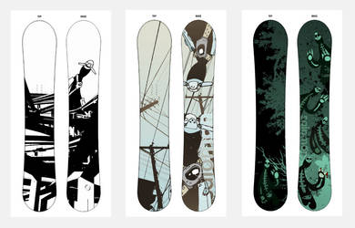 Jawa's Salomon Snowboards by Jawa-Tron