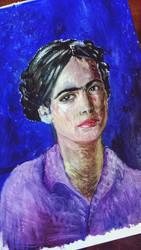 Van Gough painted Frida