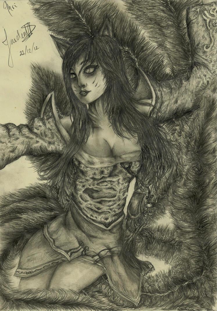Ahri by JaidenIV