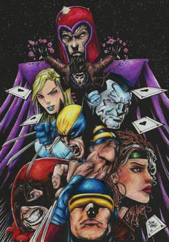 X-Men Lineart Colour